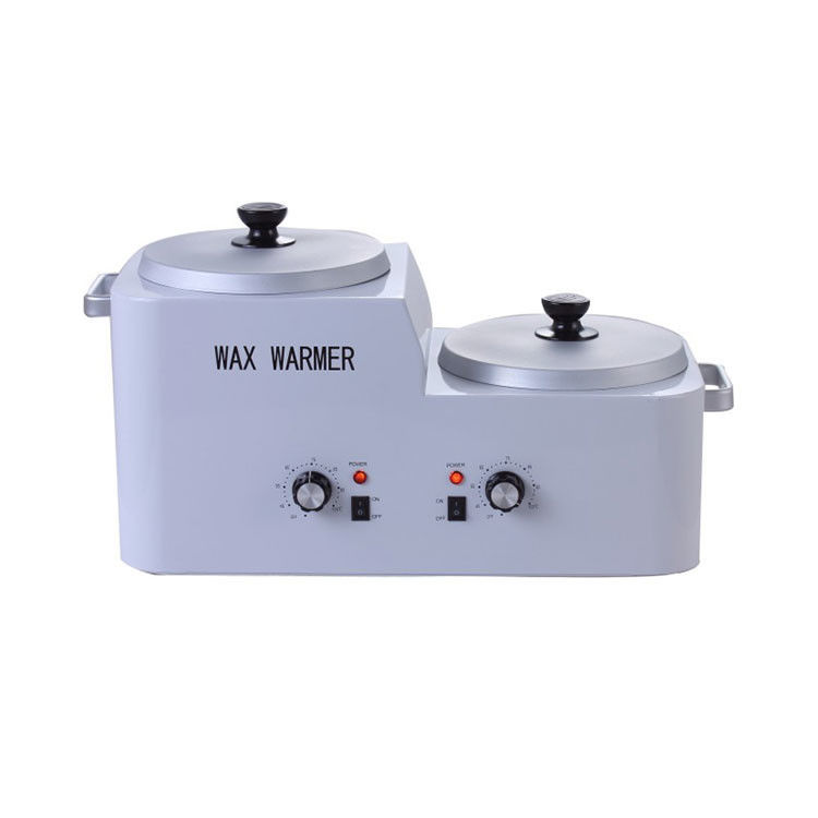 Double Pot Paraffin Wax Warmer High Temperature For Hair Removal / Skin Care