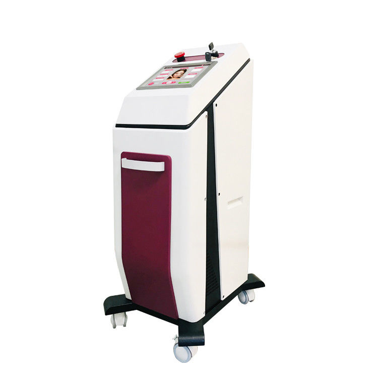 900 Watt Diode Laser Hair Removal Machine For Clinic Beauty Salon  Tree Spot Size Choice