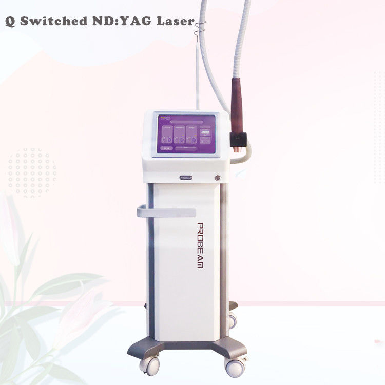 532 Nm 1064 Nm ND Yag Laser Q Switched ND Yag Laser Alexandrite Laser Tattoo Removal Laser