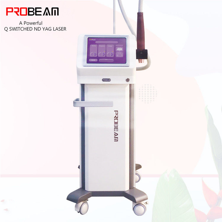 Portable Q Switched ND Yag Laser Tattoo Removal Laser Q Switched ND Yag Skin Rejuvenational