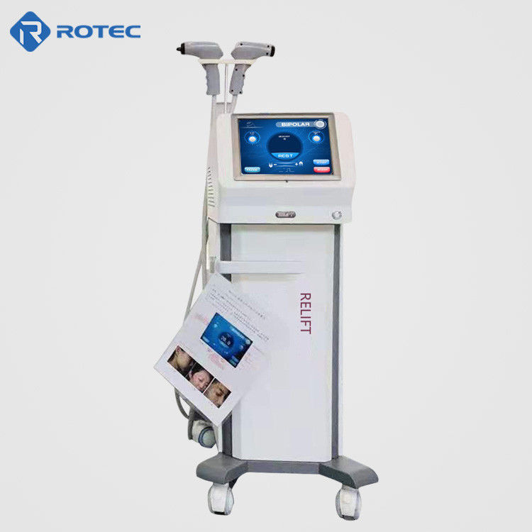 40-65℃ Temperature RF Skin Tightening Machine For Face Lifting Weight Loss Beauty Salong Use